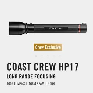 Coast Crew HP17 Flashlight
